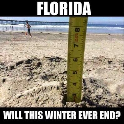 Don't Cry Northerners! #Memes of Winter in Florida
