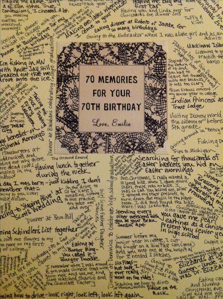 Birthday card for dad 70th birthday