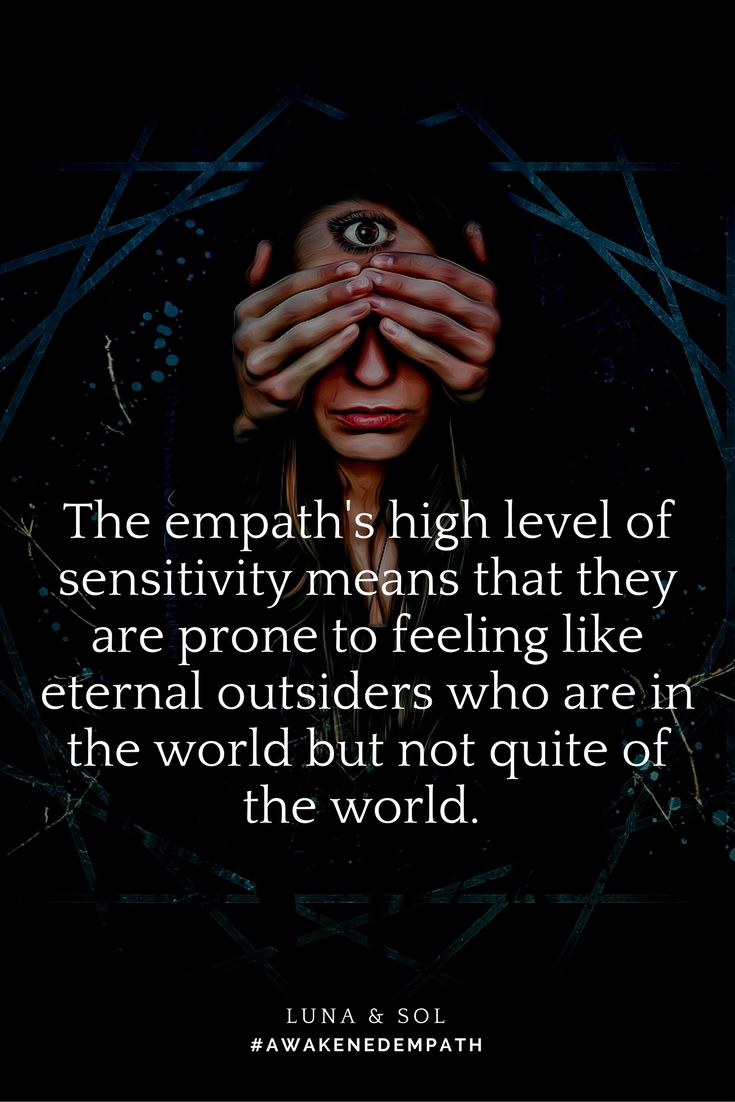 Are you an empath who feels like an eternal outsider?