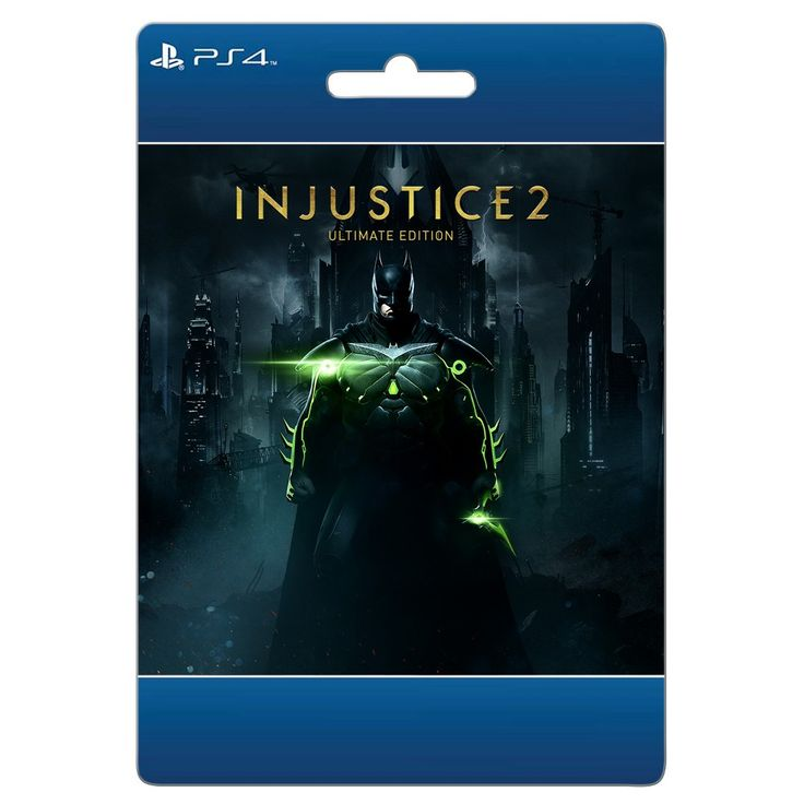 PlayStation 4 Injustice 2: Ultimate Edition $99.99 - Email Delivery