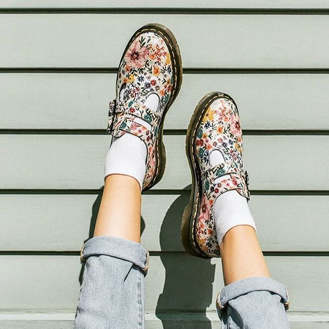 c387f5f5f The Perfect Spring Shoe Shop the Dr. Martens 8065 Wanderlust Mary Jane at  any of