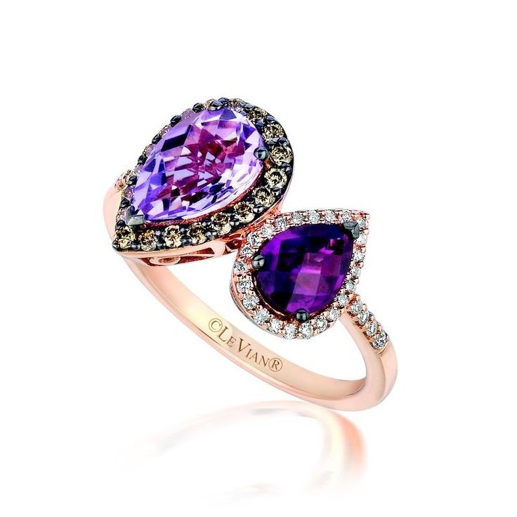 Le Vian Cotton Candy Amethyst Ring