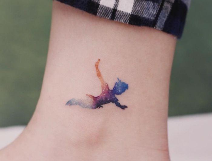 ▷ 1001 + Ideen für Tattoo am Fuß, am Knöchel oder an der Wade