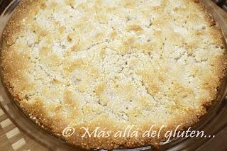 KUCHEN SIN HARINA Más allá del gluten...: Pie / Pastel de Manzana y Almendras (Receta SCD y GFCFSF)
