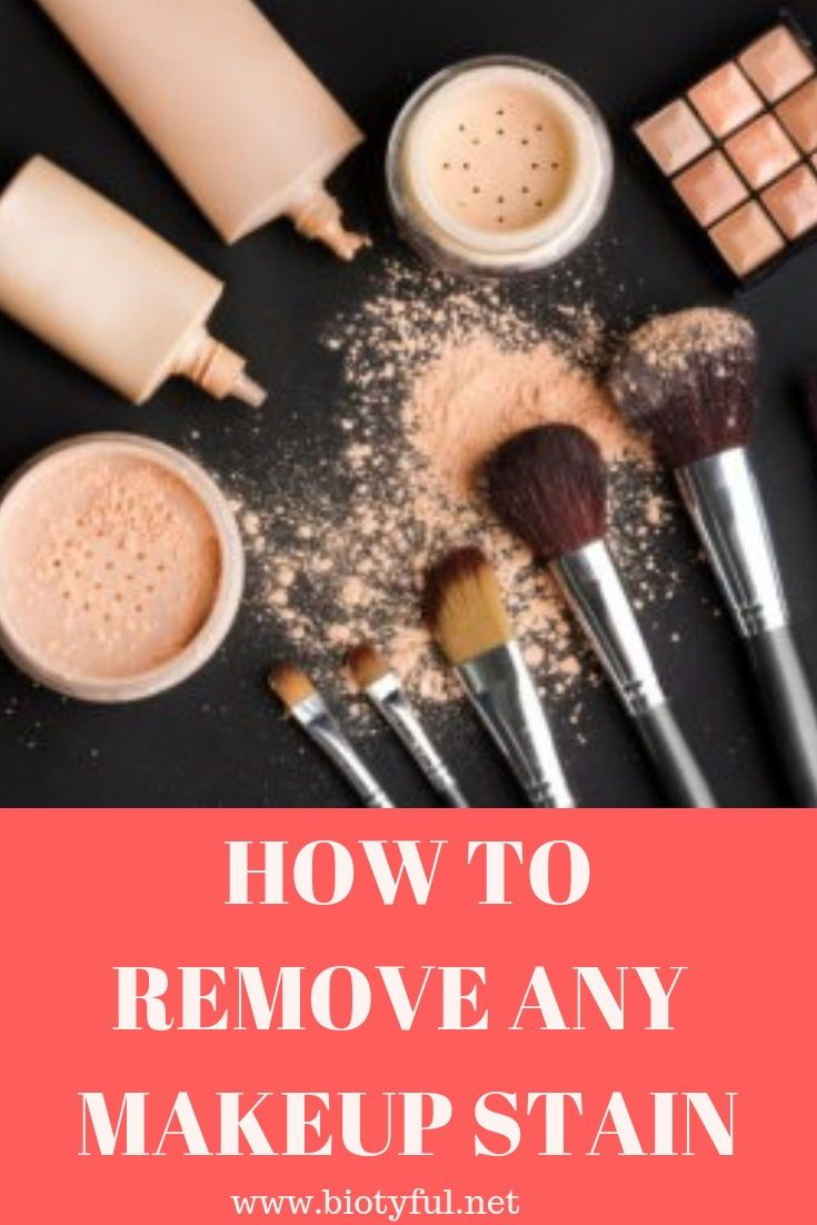 5 Pleasant Ways To Remove Makeup From Clothes Biotyful Net Remove Makeup From Clothes Remove Makeup Stains Makeup Stain