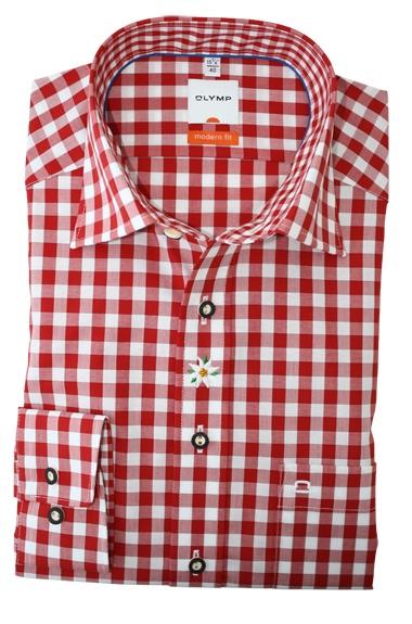 Een prachtige rood geruite overhemd van Olymp http://www.hemdenonline.nl/item-overhemden-olymp-olymp-6399-64-35-3050p39_53.html Olymp 6399-64-35