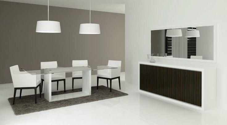 Consola * Mesa de jantar * Conjunto de cadeiras * Moldura espelho * Conjunto candeeiros