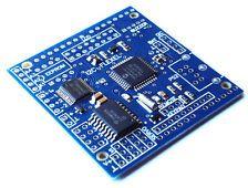 ARDUINO I2C Multifunction Shield ( Motor Servo LCD Keypad Remote Sensor RTCC )