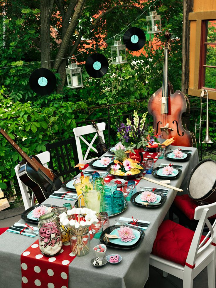 Duka för musikalisk fest! | Redaktionen | inspiration från IKEA