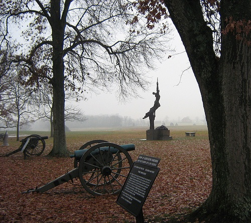 Gettysburg Battlefield, Gettysburg, Pennsylvania- such a sad and eerie place, but its also so beautiful at the the same time