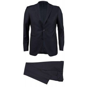 Tagliatore 2FNA22A01 Herren Anzug schwarz