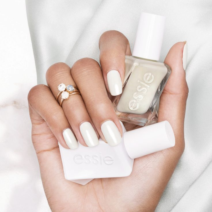 need a hand? slip into this slinky satin mint, and you may never have to lift a finger. that was easy. 'zip me up' from the new essie gel couture 'first look' collection.