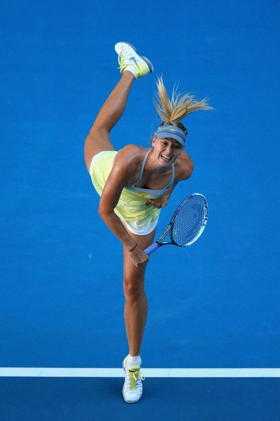 Maria #Sharapova - Australian Open 2013 in Melbourne  #tennis #ausopen  http://www.australianopen.com