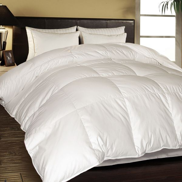 Hotel Grand 1000 Thread Count Egyptian Cotton Oversized White Down Comforter - Overstock™ Shopping - Great Deals on Hotel Grand Down Comforters