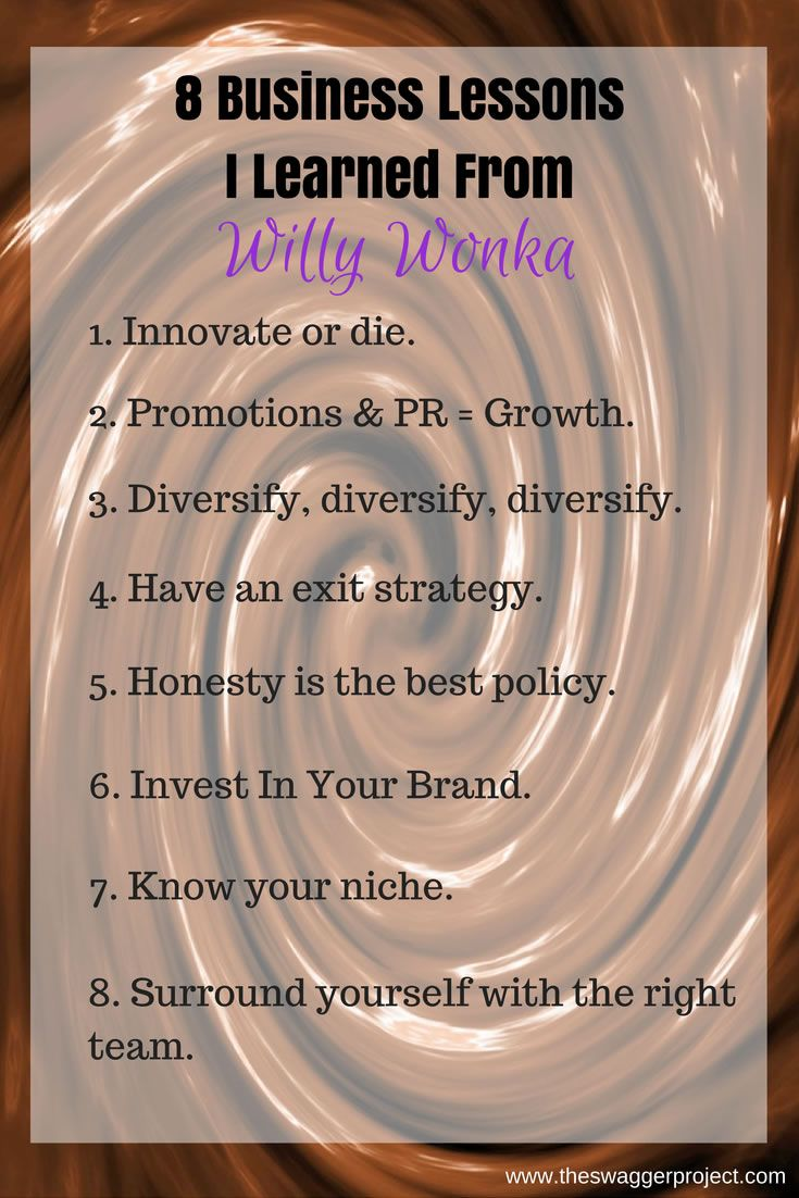 8 Business Lessons Learned from Willy Wonka.