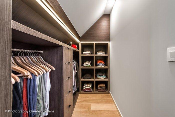 Closet Under Eaves Home Dressing Rooms Attic Closet Attic Rooms Attic Apartment