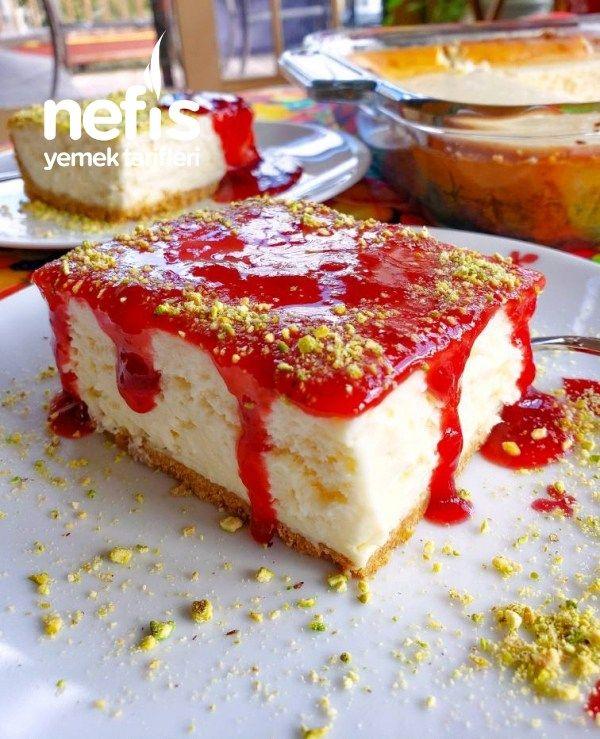 Borcamda Pratik Cheesecake #borcamdapratikcheesecake #kektarifleri #nefisyemekta…