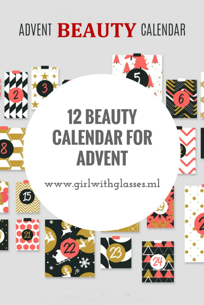 12 beauty calendar for advent you can get or give