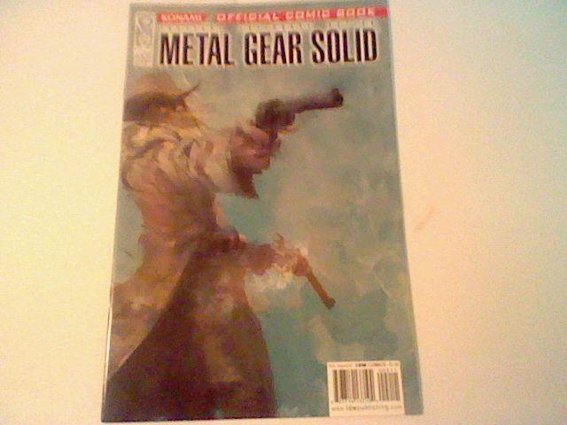 METAL GEAR SOLID (2004 Series) #2 IDW , Konami  =)