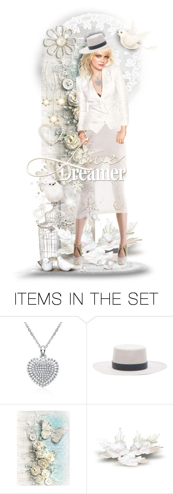 """""""Dreamer"""" by tracireuer ❤ liked on Polyvore featuring art"""
