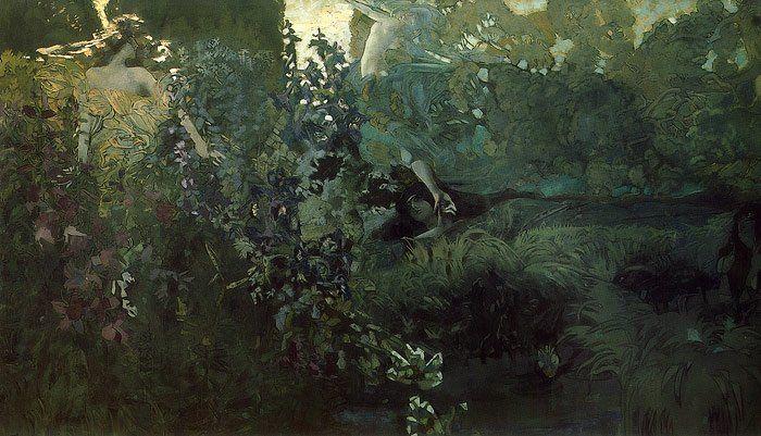 Morning by Mikhail Vrubel