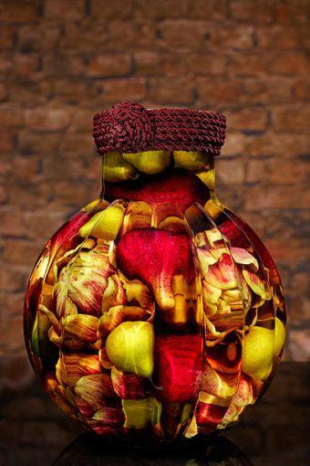 Sarabella Tuscan Art Pears and Purple Artichokes