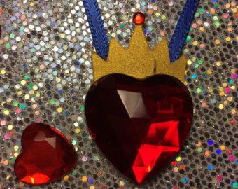 Disney Descendants Inspired Evie Crowned Heart by BannersAndStuff