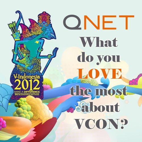 What do you LOVE the most about VCON? #VIND12