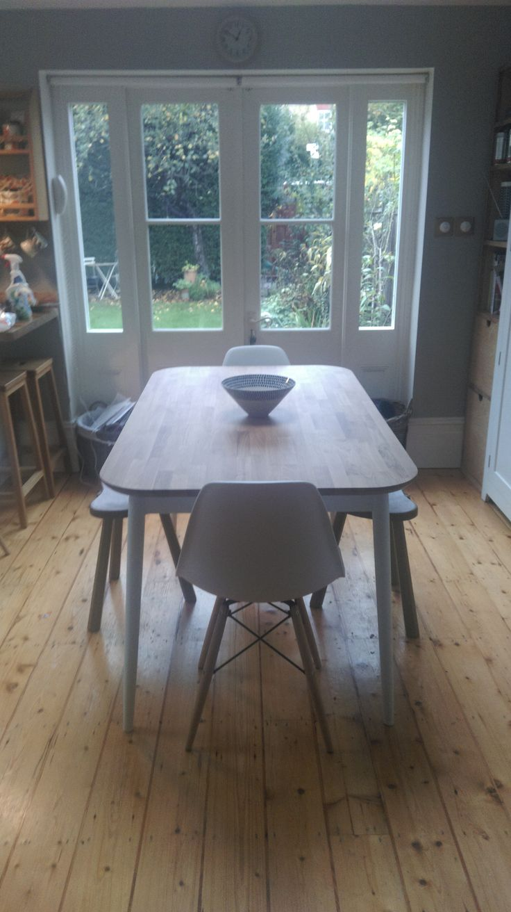 eiffel chairs and mouse man stools mid century