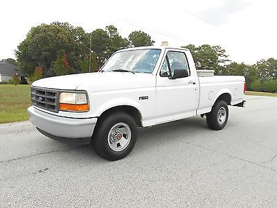 nice 1996 ford f 150 xl short bed pickup truck for sale view more at http shipperscentral. Black Bedroom Furniture Sets. Home Design Ideas