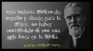 George William Foote fue un Libre pensador Británico ateo reconicido
