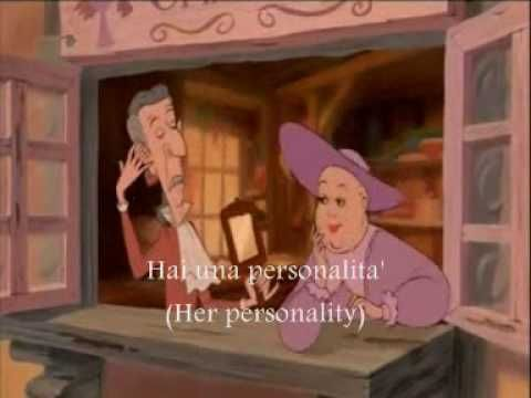 Beauty and the Beast-Belle's Song-Italian-Subs&Trans - YouTube