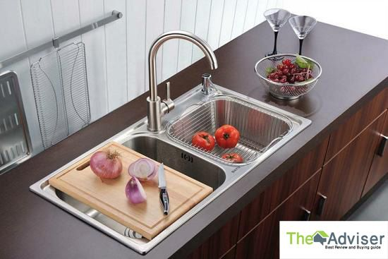 Stainless steel kitchen faucets is more durable and strong and long time lasting