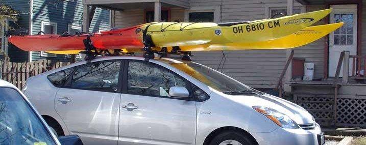 Double Kayak Roof Rack