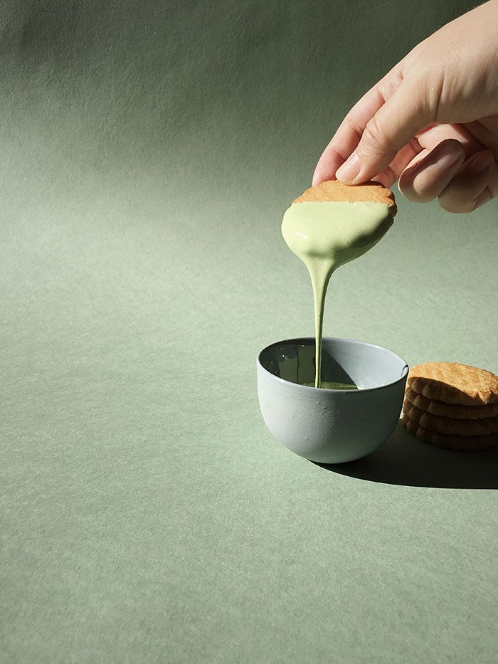 My kind of dip: Matcha Marshmallow! // Instagram: @Oh, How Civilized
