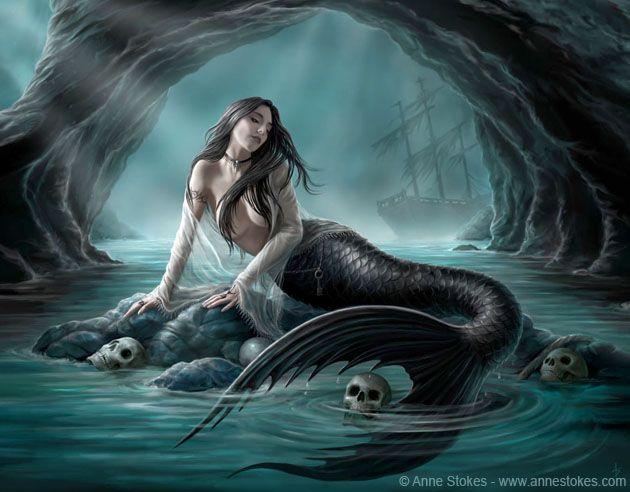 Sirens Lament_by Anne Stokes.jpg (630×492)