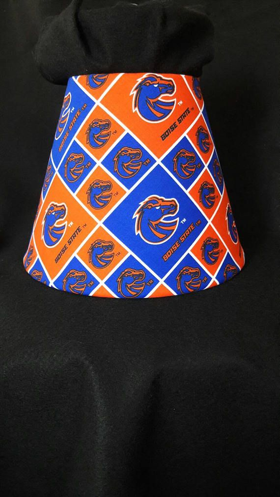 Check out this item in my Etsy shop https://www.etsy.com/listing/524256684/boise-state-university-lamp-shade