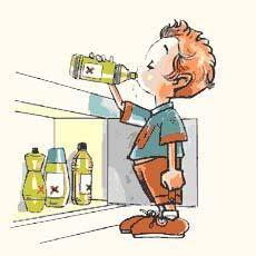 Cómo evitar los accidentes infantiles por intoxicación