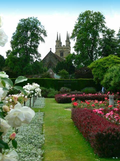 Garden of Penshurst Place, Kent, England