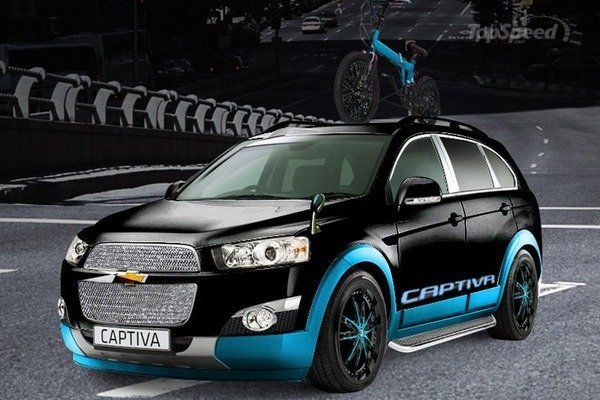 2013 Chevrolet Captiva Freedom Rider Edition