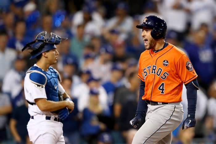 Astros' George Springer wins World Series MVP LOS ANGELES — George Springer hit so many clutch home runs, he was a clear pick for World Series MVP. He often was the Most Vocal Person, too — and that might be the most remarkable part of his story. The Houston leadoff man hammered his way to the ...