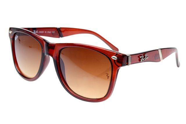 Ray Ban Wayfarer RB627 Sunglasses Brown Frame Brown Lens