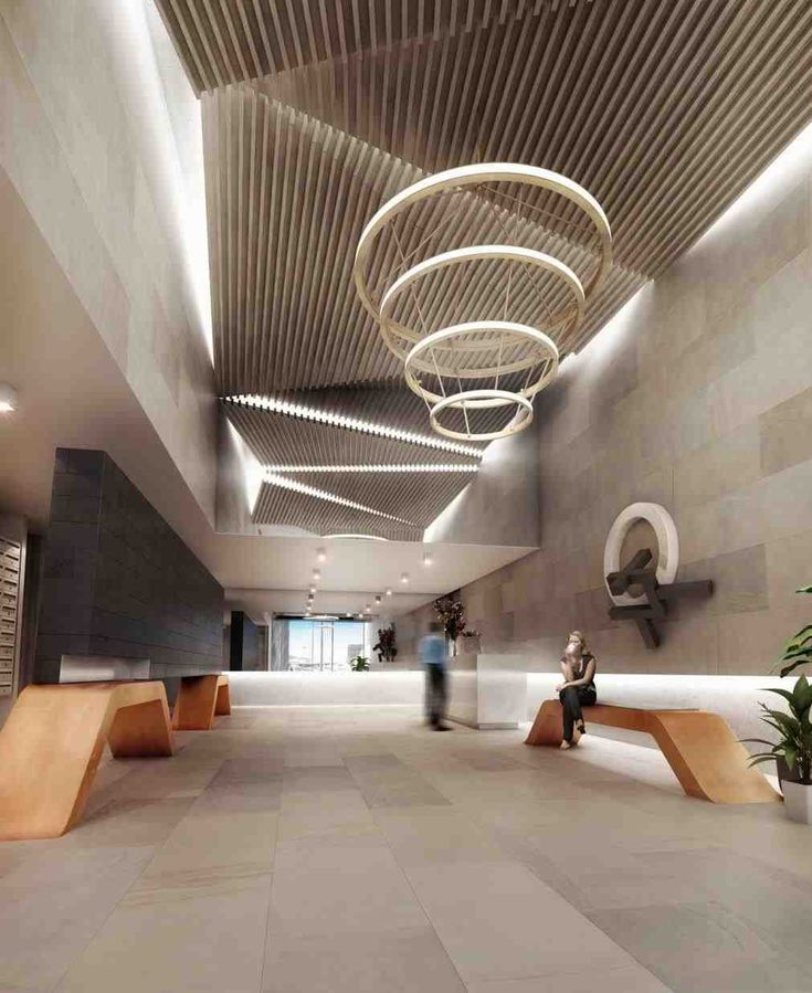 Modern Apartment Lift Lobby full image