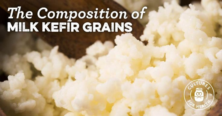 Composition of Milk Kefir Grains: Bacteria & Yeasts