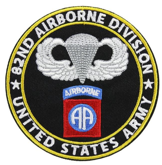 St mere eglise 82nd airborne patch