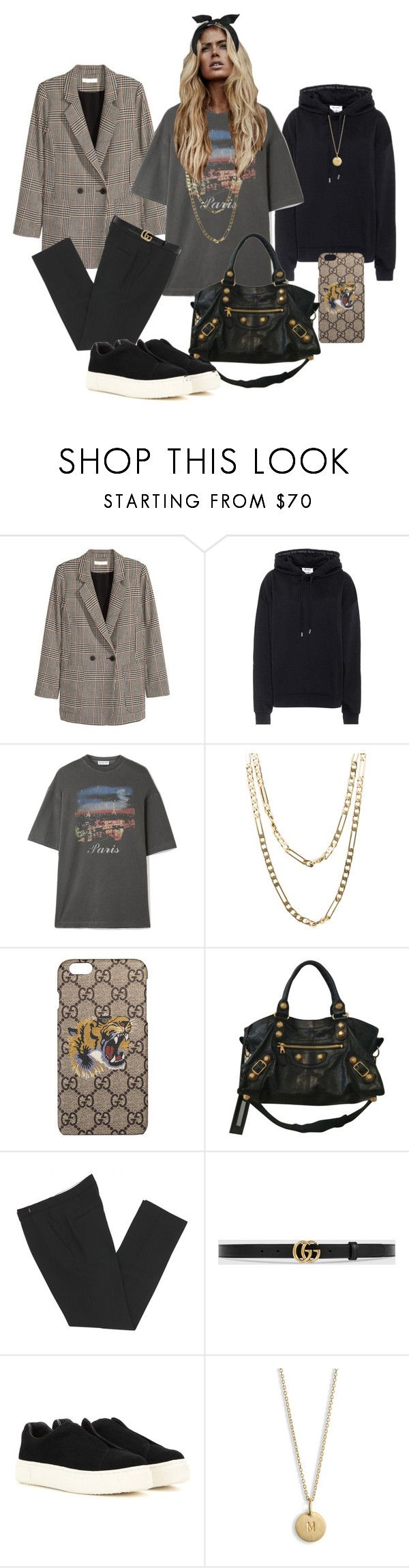 """Untitled #243"" by fashiondisguise on Polyvore featuring Jakke, Acne Studios, Balenciaga, Cartier, Gucci, Isabel Marant, Eytys and yunotme"