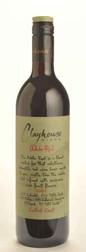 Clayhouse Wines - 2009 Adobe Red Zinfandel blend - Very smooth tannis, Cherry/berry fruit, very balanced. Excellent. (Drank 7/2012 at MiMo's Wine Club Dinner)