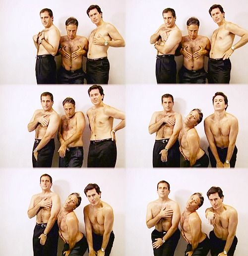 3 of my favorite funny men being ridiculous