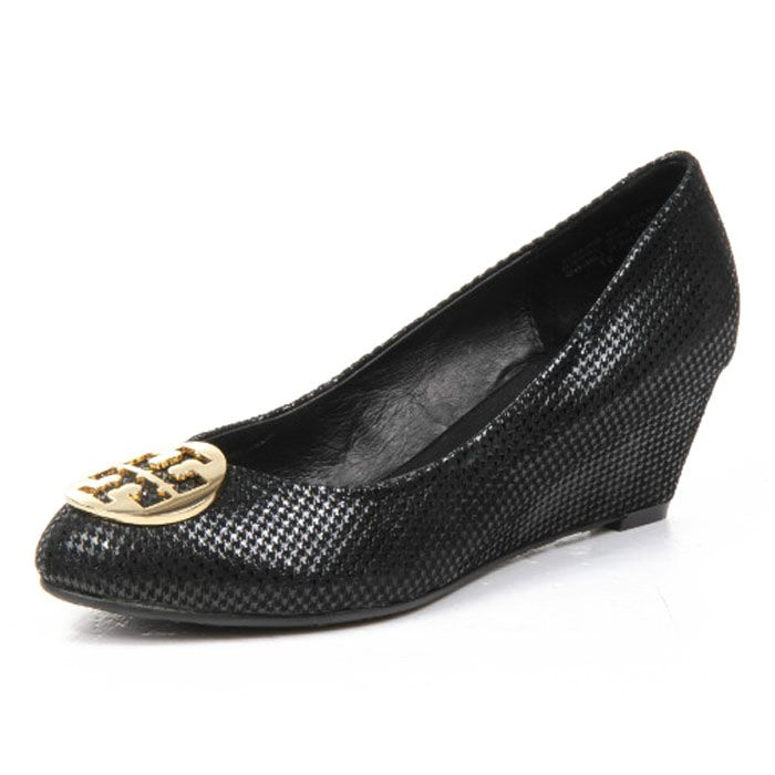 $112.00 TB Sally Wedge Black
