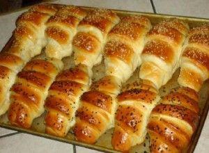 Měkkoučké máslové rohlíky